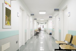 hospital hallway, mesothelioma deaths