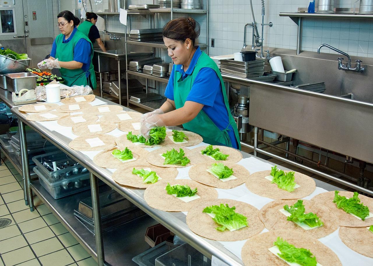 Kitchen staffs, heat related illness